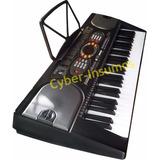 Teclado Musical Organo 61 Teclas Con Transformador Microfono