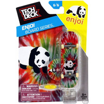 Tech Deck Skate De Dedo Enjoi Panda Lacrado