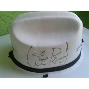 Chapéu Autografado Por Milionário & José Rico - Colecionador