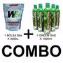 Combo Municiones Balines Plástico 6 Mm 0,20 + Green Airsoft