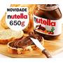 Nutella 5 Potes De 650g (3,25kg) Creme De Avelã Muito Barato