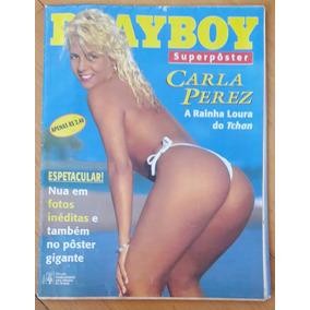 Revista Playboy Superposter Carla Perez - Ótimo Estado