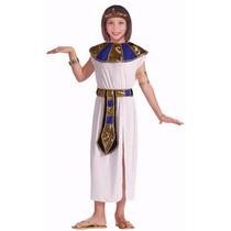 Fantasia Egípcia Luxo, Cleópatra Infantil (performer Angels)