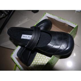 Zapatos Escolares Negros Maria Pizola Talla 38 De Cierre Mag