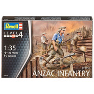 Anzac Infantary 1915 Australian New Zealand Revell 02618