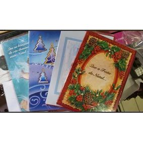 Cartões Sortidos De Natal Kit C/ 100 Peças