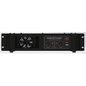 Potencia Amplificador Áudio Leader Al 4.0 4000 W Rms 2 Ohms