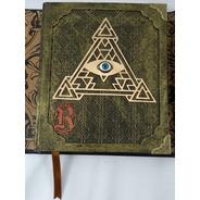 Grimório Maçom Illuminati  Artesanal  Olho E Pirâmide