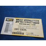 Bruce Springsteen -entrada De Coleccion Argentina 2013