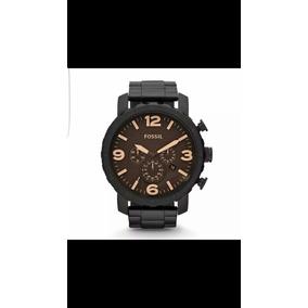 3feed188a8d4 Reloj Fossil Jr1356 Negro Hombre Original Envio Inmediato