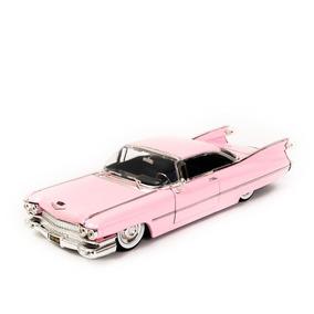 Cadillac Coupe De Ville 1959 Rosa - Jada 1:24