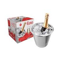 Balde Inox Para Champagne 4l Com Aba - Euro Home