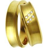 Aliança De Ouro Casamento E Noivado Citapemirim Oliver Joias