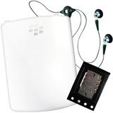 Combo Blackberry Bb Curve 8520 Mica Audifono Sim Card Carga