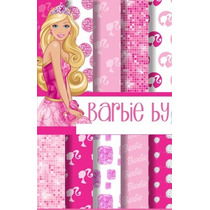 Kit Scrapbook Digital Barbie