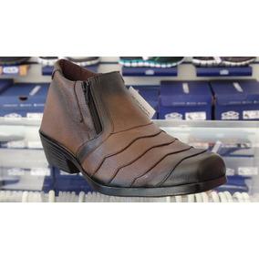 Sapato Bota Masculino Couro Country D
