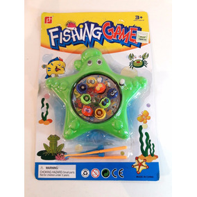 Juguete Peces Para Pescar Con Iman Para Nenes
