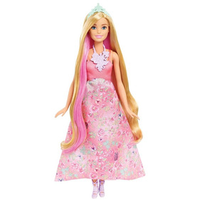Barbie Dreamtopia Princesa Cabello Magico