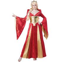 California Costumes Medieval De La Reina Adulta Del Traje-x-