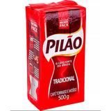 10 Pacotes De Café Pilão A Vácuo Tradicional 500g