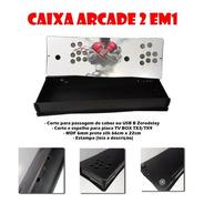 Caixa Arcade 3 Em 1 Box P281 (com Acrílico E Estampa)