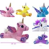 Unicornios Con Alas De Peluche Hermosas