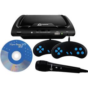 Dvd Karaokê Lenoxx Com 1 Microfone. Usb. Game. Ripping E 2 J