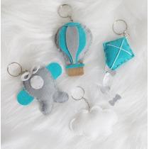 20 Chaveiros Balão, Avião, Nuvem Pipa Lembrancinha