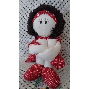Boneca De Pano Pernuda