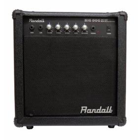 Cubo Amplificador Para Baixo Randall Rbd30bt 30w Big Dog