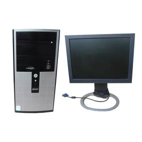 Computador Intel Dual Core 2gb Hd 160gb Dvd-rw Monitor 15