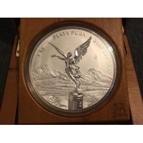 Moneda 1 Kilo Plata Onza Libertad 2007