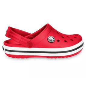 Crocs Originales - Crocband Kids - Crocs Niños Red R1k