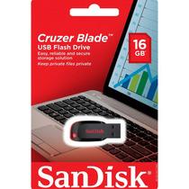 Pendrive Sandisk 16gb Cruzer Blade Lacrado