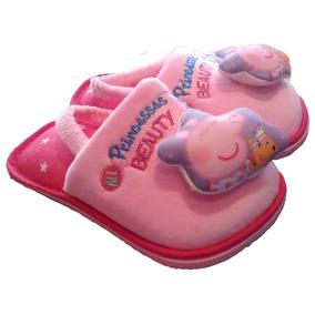 13-18.5 Pantuflas Bebé Niña Marie Aristocats Peppa Pig Masha