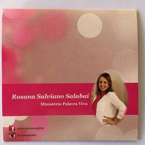 Pregações Em Mp3 - Pra. Rosana Salviano Salabai Frete Grátis