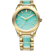 Relógio Technos Feminino Elegance Stone Collection 2033ag/4a