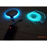 Cable Y Cinta Kit Luz Neon, Motos, Cascos, Vehiculo, Patines