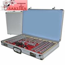 Caja De Pruebas Grande Aluminio/metal 266 Piezas Nueva