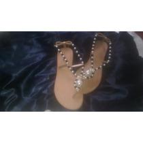 Sandalias Con Piedras