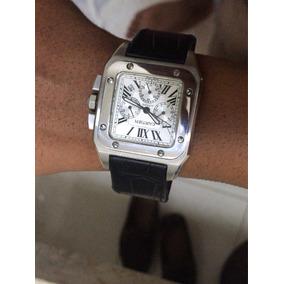 Relógio Cartier Santos 100 1904-2004 (original)
