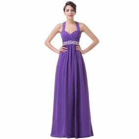 Vestido De 15 Anos Roxo - 34 36 38 40 42 44 46 48 - Vg00218