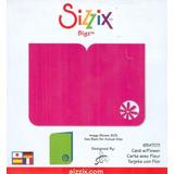 Sizzix Bigz Die - Card W/flower Troquel