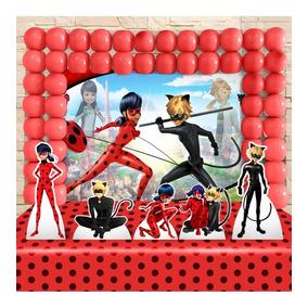Kit Decoração Festa Infantil Miraculous Ladybug Promoção