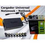 Cargador Universal Notebook Netbook Hp Toshiba Acer Y Mas