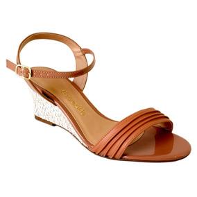 721f123dd Sandáçias Anabela Feminino Crysalis - Sapatos no Mercado Livre Brasil