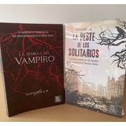 Combo: La Semilla Del Vampiro + La Peste De Los Solitarios
