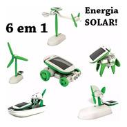 Brinquedo Miniaturas Carrinho Avião Carros Energia Solar