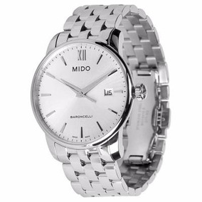 Relógio Masculino Mido Baroncelli M013.410.11.03 Original Nf