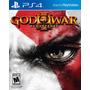 God Of War 3 Iii Remastered Nuevo Ps4 Dakmor Canje/venta